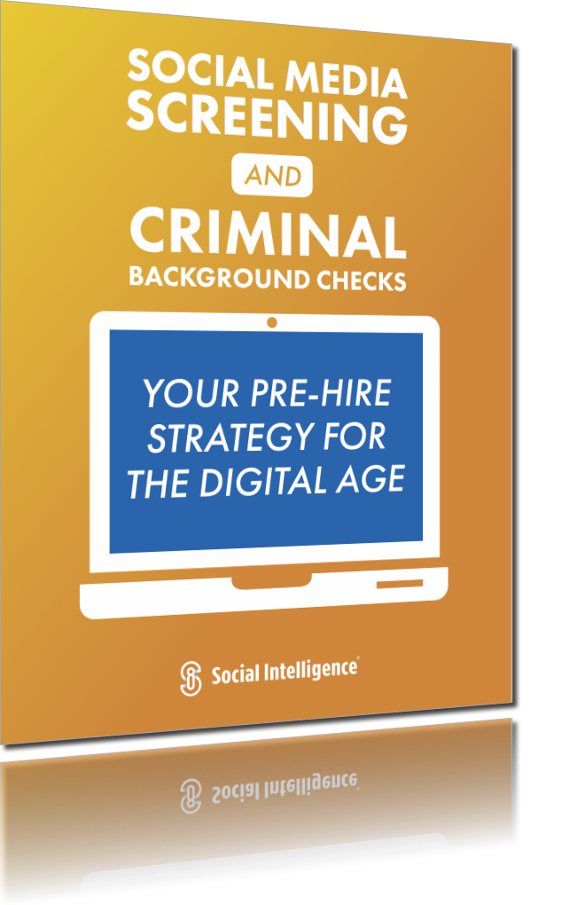 Social Media Screening and Criminal Background Checks